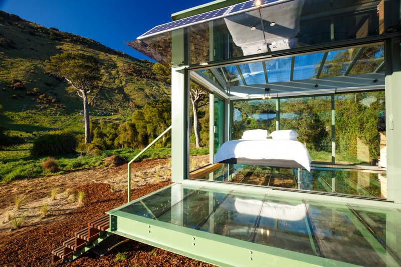 Purepods Rent A Glass House Surrounded By Nature