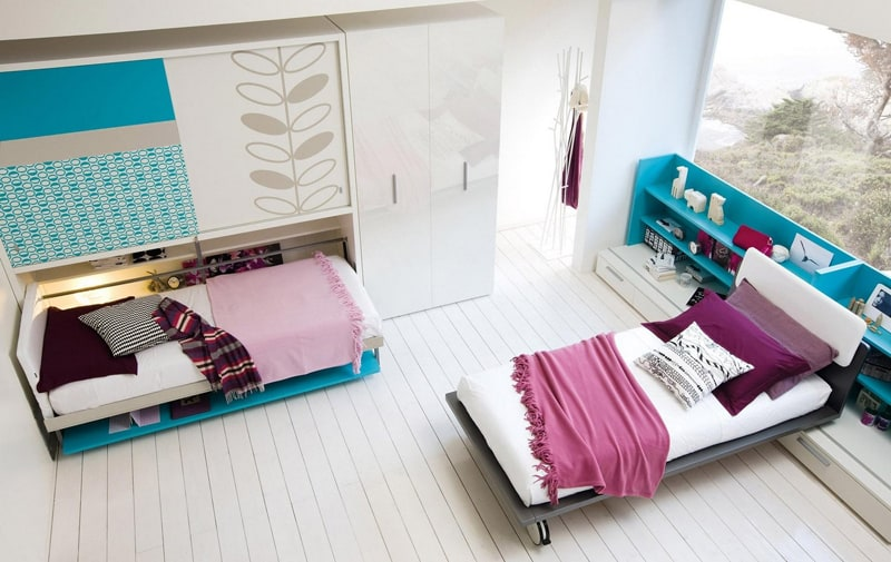 Space saving kids rooms designrulz 1