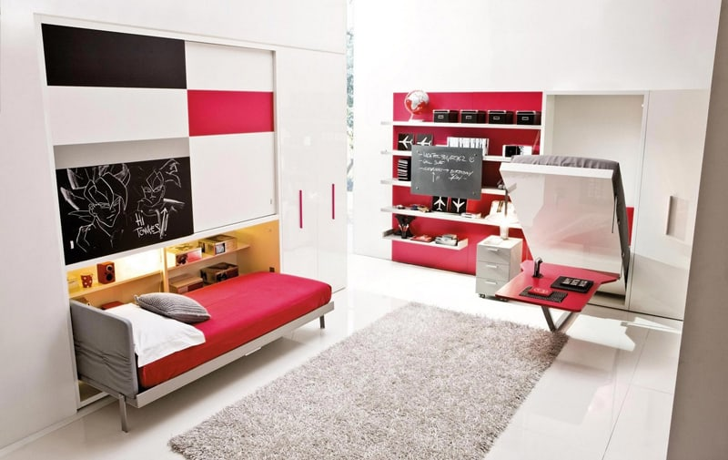Beau ... Space Saving Kids Rooms_designrulz (12) ...