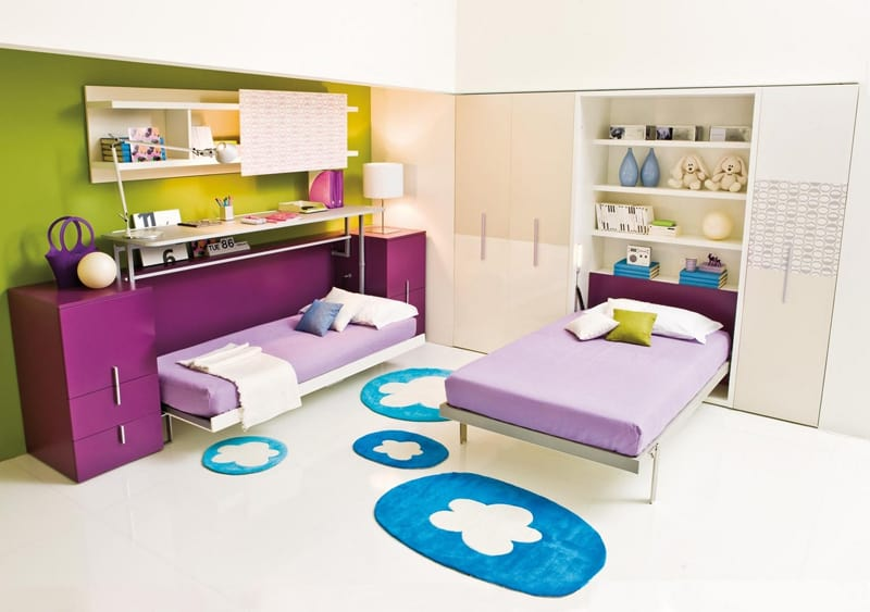 ... Space Saving Kids Rooms_designrulz (27) ... & 30 Transformable Kids Rooms with this Amazing Space Saving Furniture