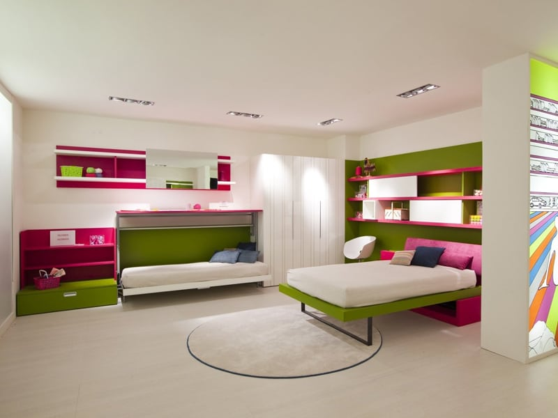 ... Space Saving Kids Rooms_designrulz (3) ... & 30 Transformable Kids Rooms with this Amazing Space Saving Furniture