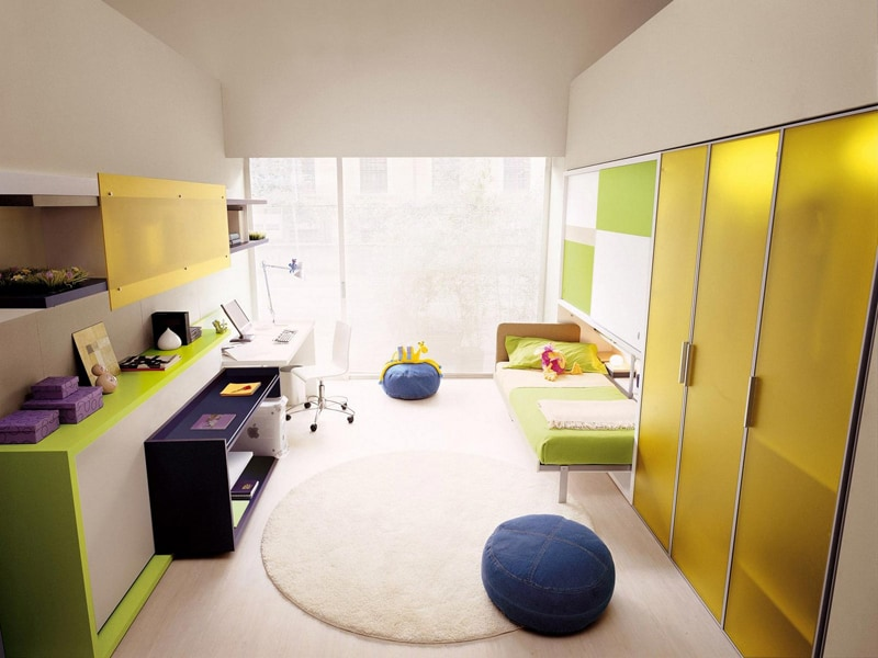 ... Space Saving Kids Rooms_designrulz (7) ...