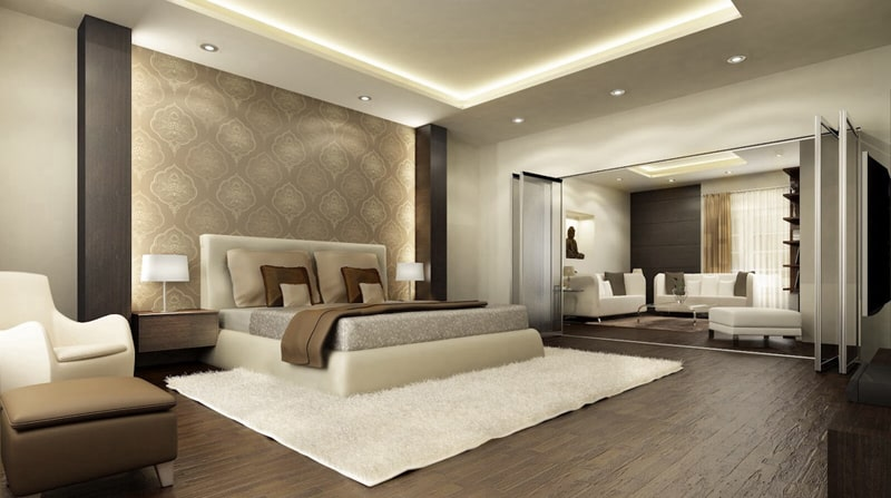 bedroom wood floor_designrulz (8)
