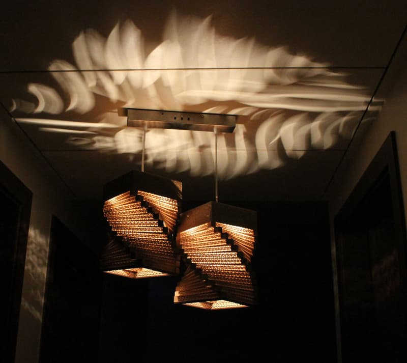 21 Creative Diy Lighting Ideas: DIY 20 Creative Cardboard Lamp Ideas