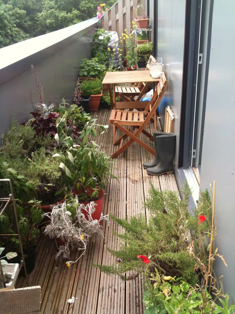 Small Apartment Balcony Garden Ideas: 35 Awesome Balcony Design Ideas
