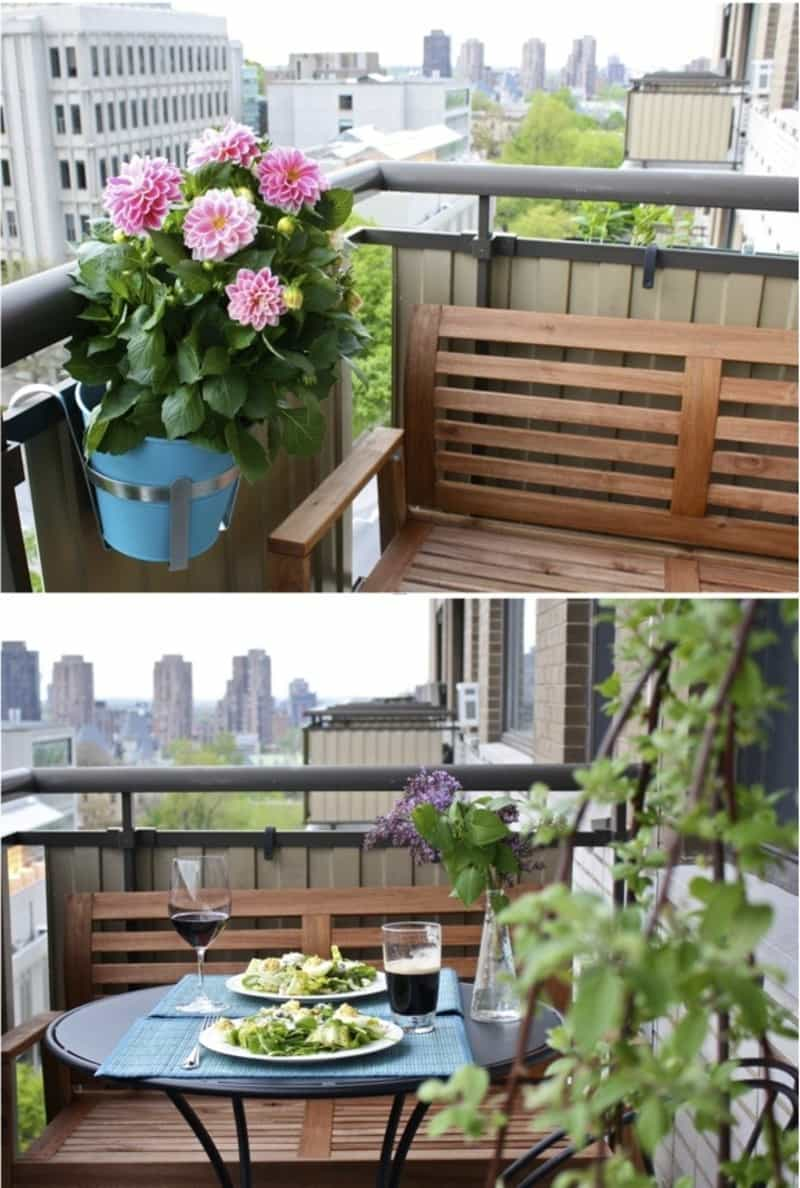 35 awesome balcony design ideas for Balcony garden design ideas