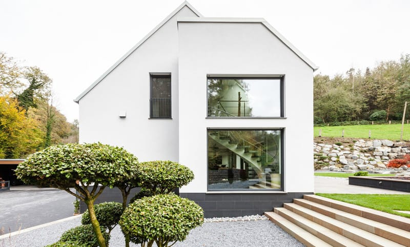 Modern Single Family House by ONE!CONTACT, Germany