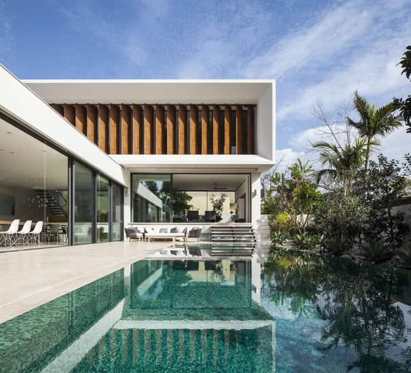 Contemporary Mediterranean House A Private Paradise: Modern Mediterranean Villa By Pazgersh Architecture + Design