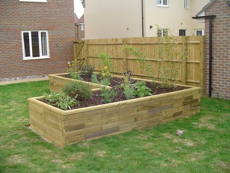 How To Build Raised Beds From Pallets