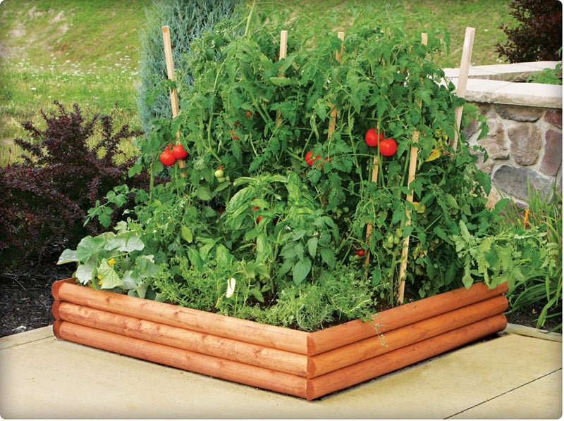 How To Build A  Foot Raised Garden Bed