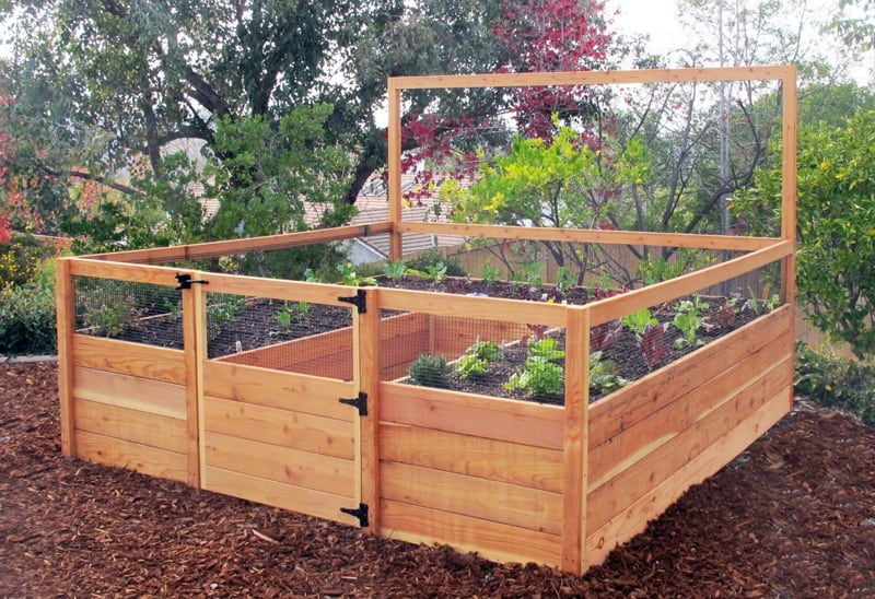 Garden Raised Beds (26)