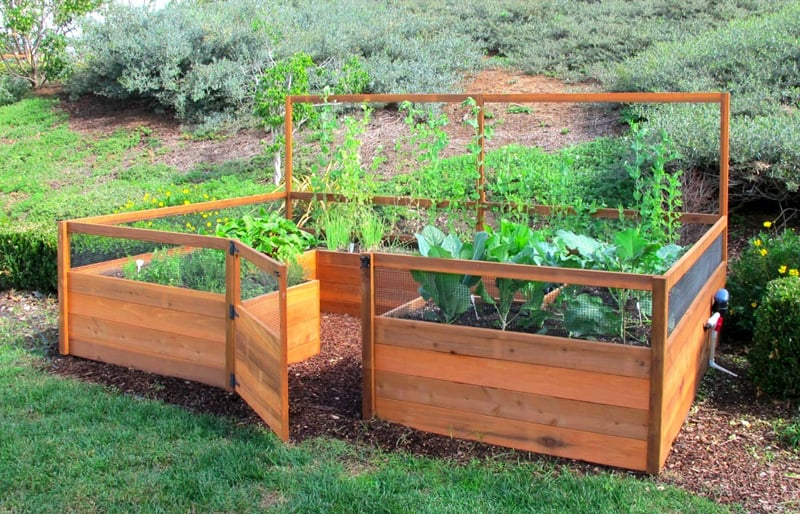 Garden Raised Beds (3)