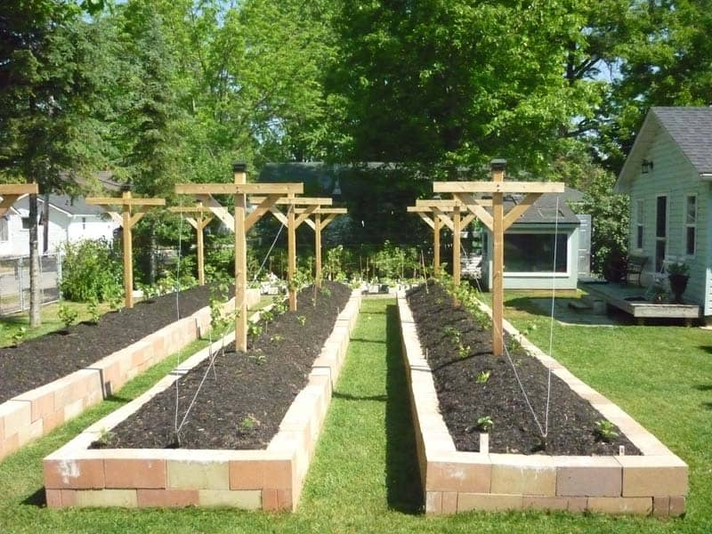 Garden Raised Beds (32)