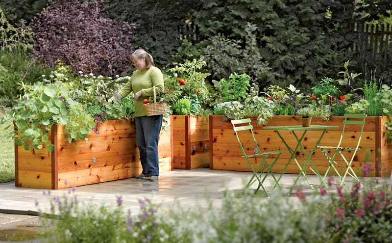 Garden Raised Beds (9)