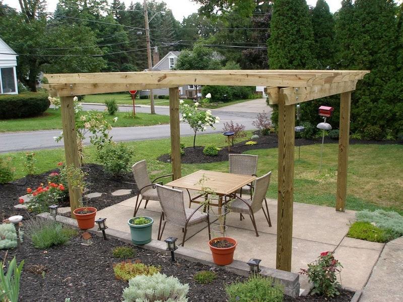 50 pergola design ideas transform outdoors completely for Backyard patio landscaping ideas