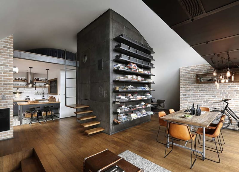 Exciting Industrial Apartments Pictures Best Inspiration Home