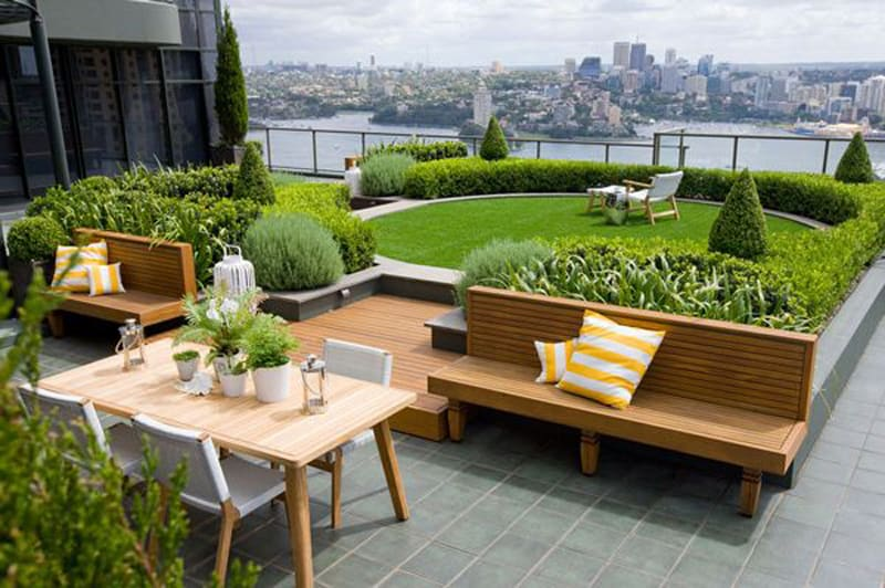 Outdoors Terrace Rooftop Design Ideas - Home Improvement Inspiration