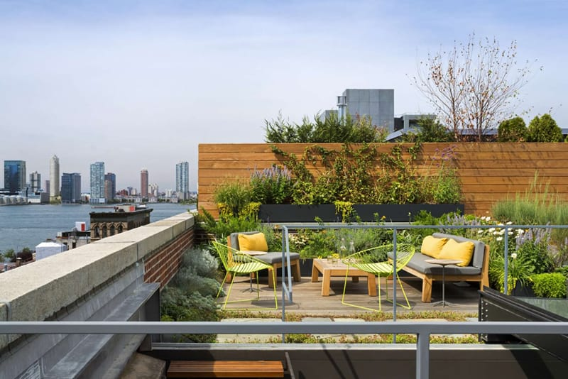 25 inspiring rooftop terrace design ideas for Rooftop landscape design