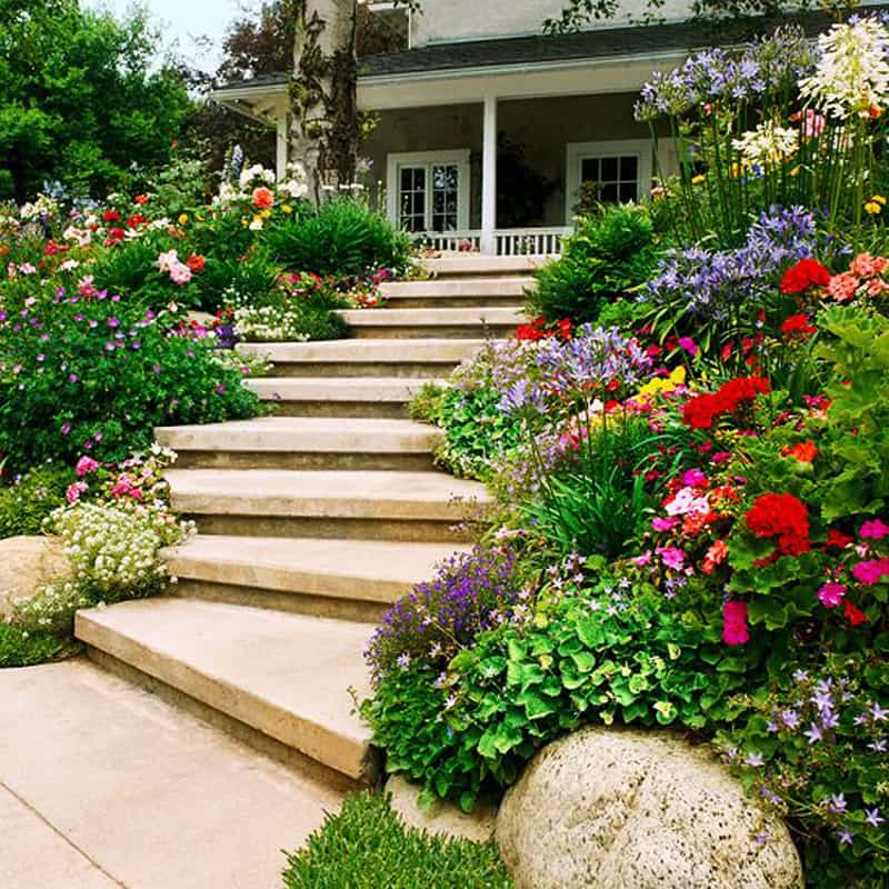 Cheap Gardening Ideas: Amazing Ideas To Plan A Sloped Backyard That You Should