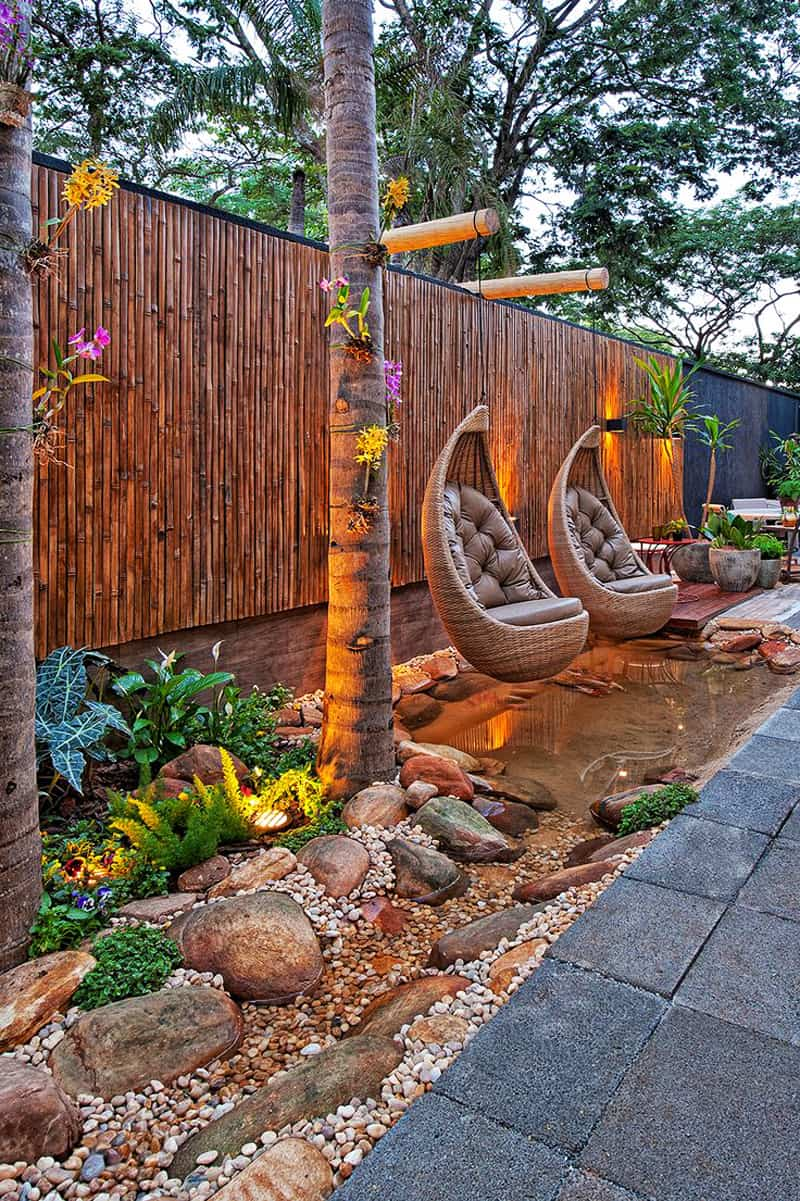 Amazing ideas to plan a sloped backyard that you should for Jardin 7 colores