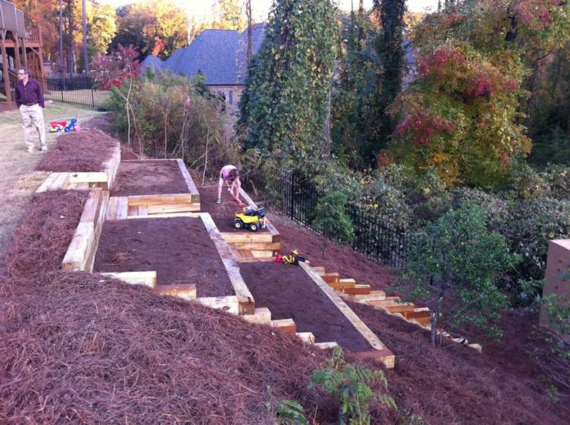 Amazing Ideas to Plan a Sloped Backyard That You Should ... on Steep Sloping Garden Ideas id=21533