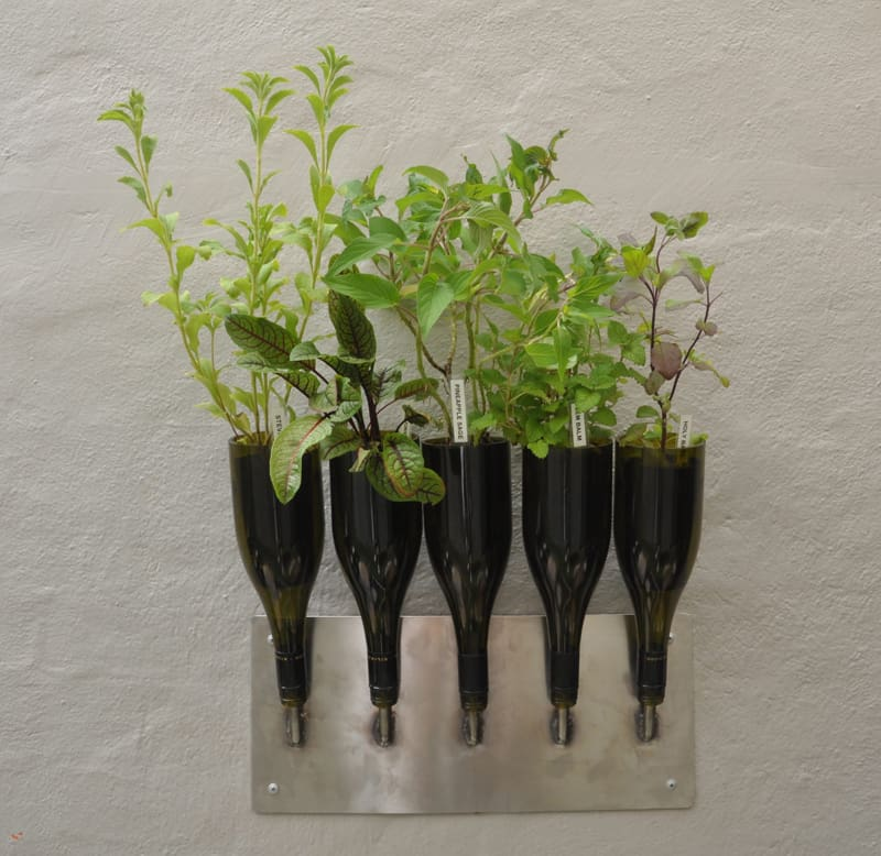 wine bottle garden-designrulz (12)