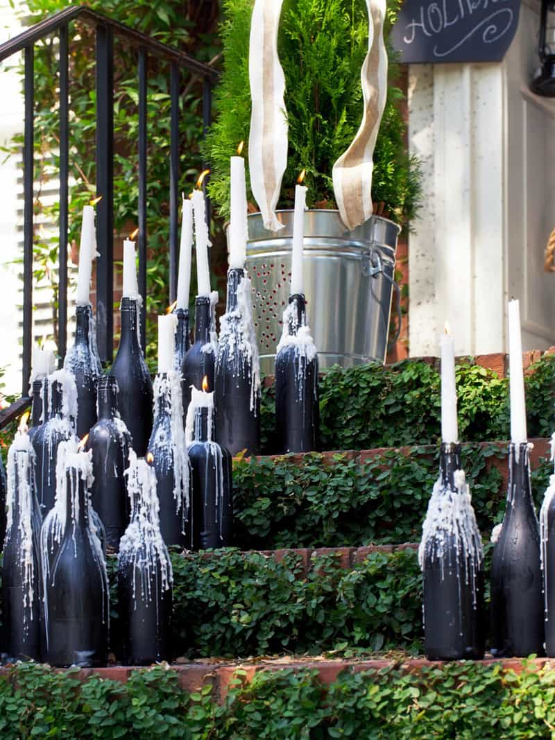 wine bottle garden-designrulz (2)