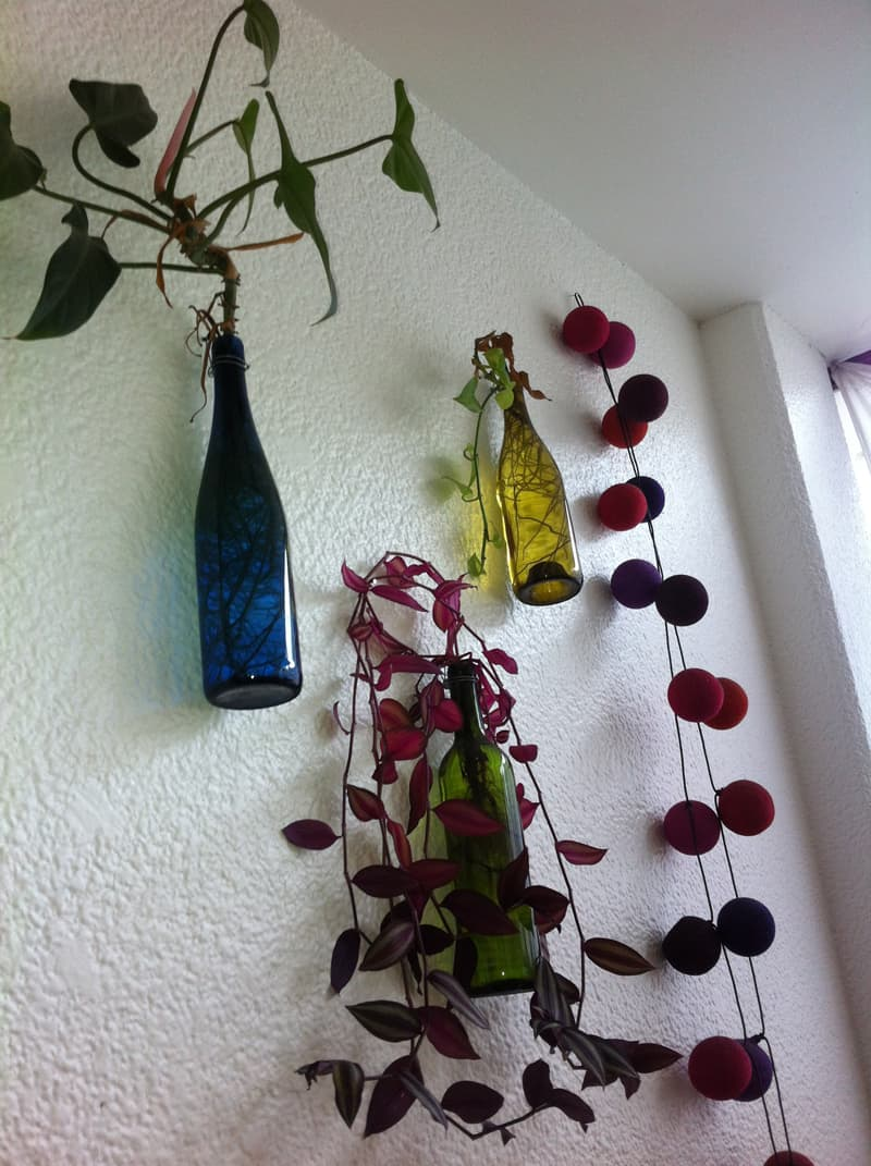 wine bottle garden-designrulz (23)