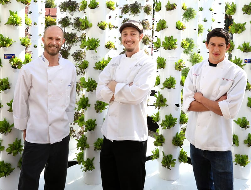 Pictured here, from left to right, are: Executive Chef Greg Murp
