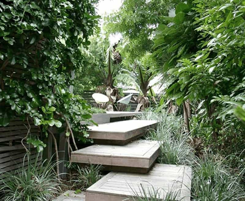 40 Ideas of How To Design Exterior Stairways on Backyard Stairs Design id=22291