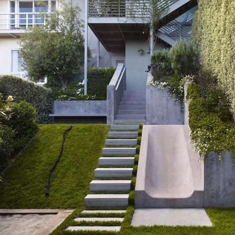 Concrete Stairs Design Ideas Home Stair Picture Exterior: 40 Ideas Of How To Design Exterior Stairways