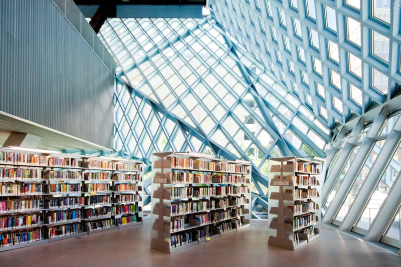 A Library For All Seattle Public Library Washington USA