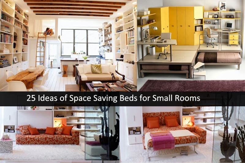 space saving bedrooms modern design ideas 25 ideas of space saving beds for small rooms 20882