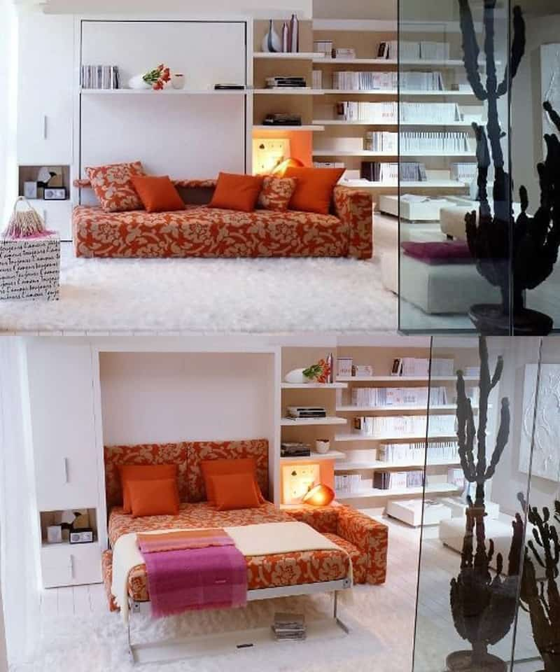 25 Bedroom Design Ideas For Your Home: 25 Ideas Of Space Saving Beds For Small Rooms