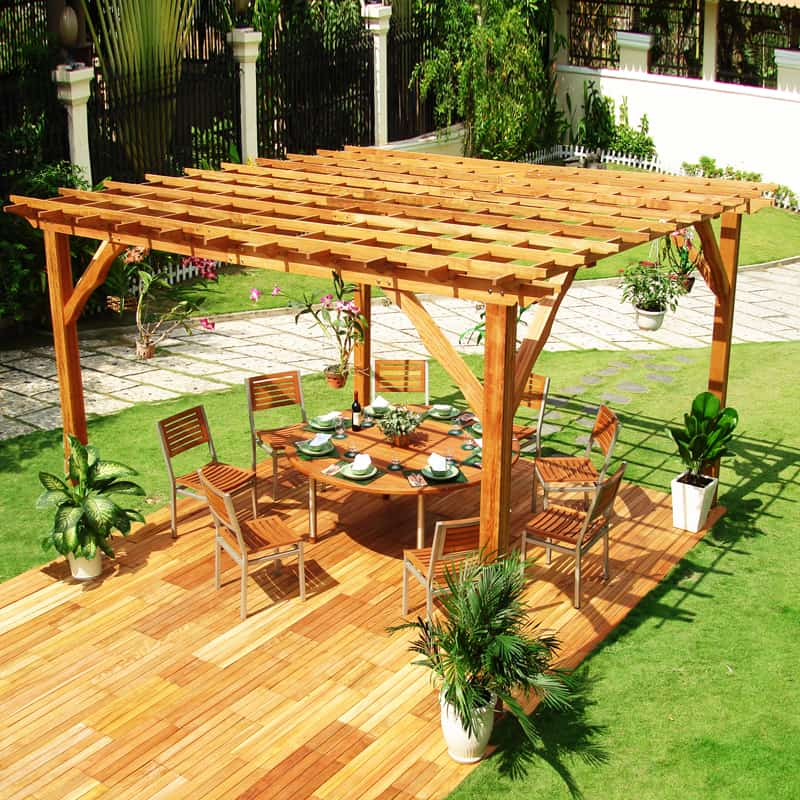Desingrul Pergola 1 40 Modern Pergola Designs And Outdoor Kitchen Ideas