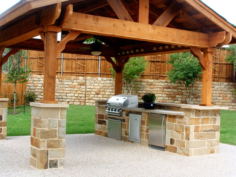 40 Modern Pergola Designs And Outdoor Kitchen Ideas on Small Modern Garden Design