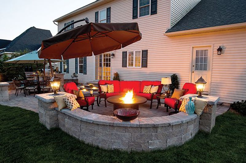 fire pit patio Design Ideas (1)