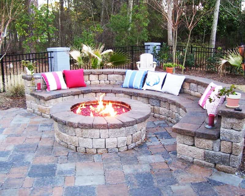 Charmant Fire Pit Patio Design Ideas (11) ...