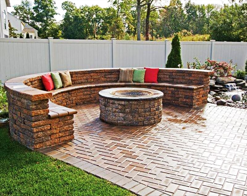 fire pit patio Design Ideas (13)