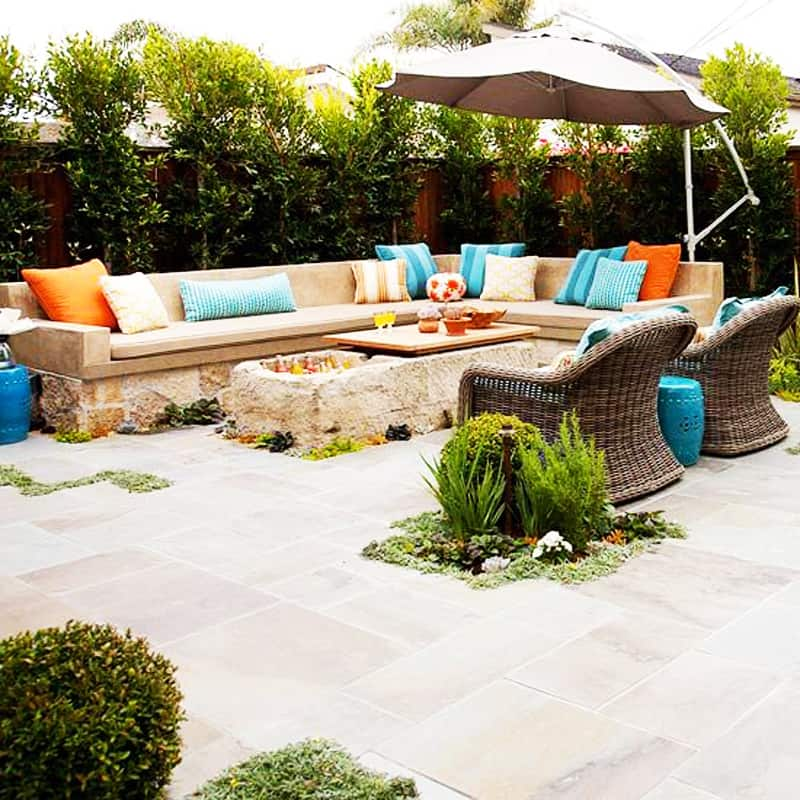 Ideal  fire pit patio Design Ideas