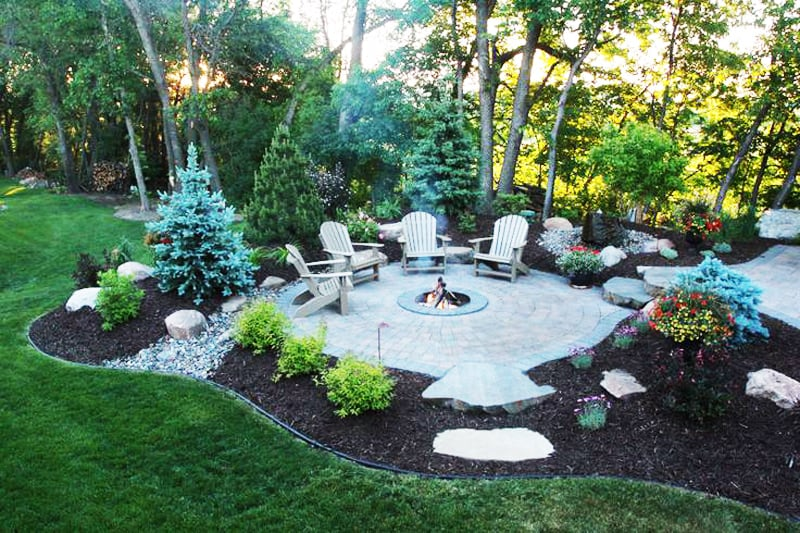 Fire Pit Patio Design Ideas (16) ...