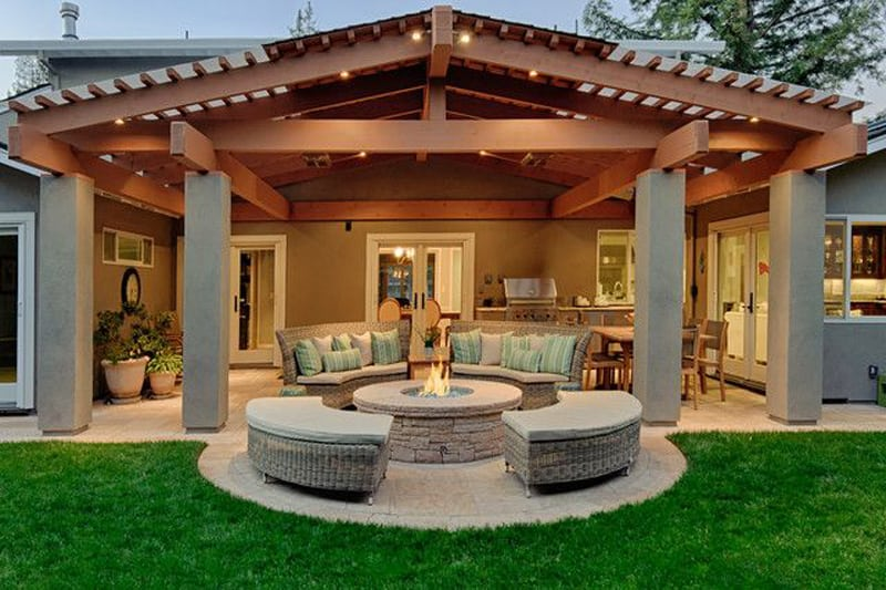 fire pit patio Design Ideas (23)