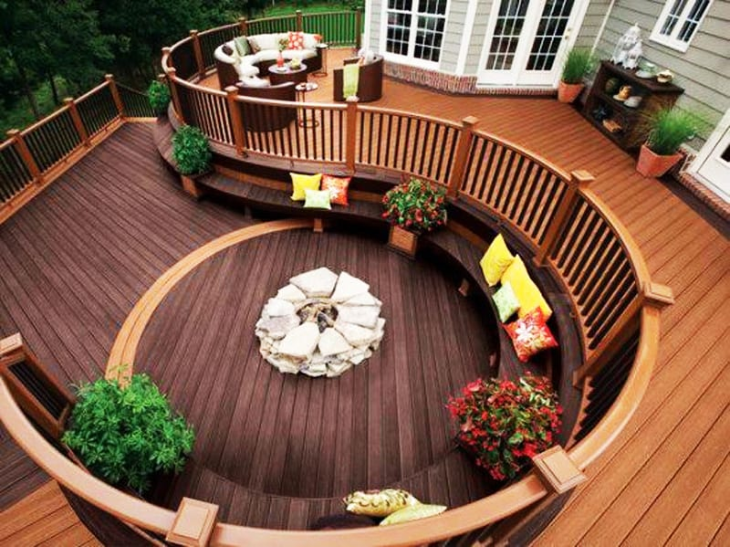 fire pit patio Design Ideas (25)
