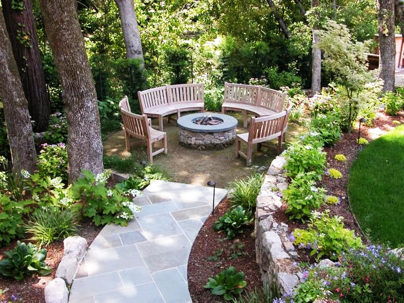 Cute  fire pit patio Design Ideas