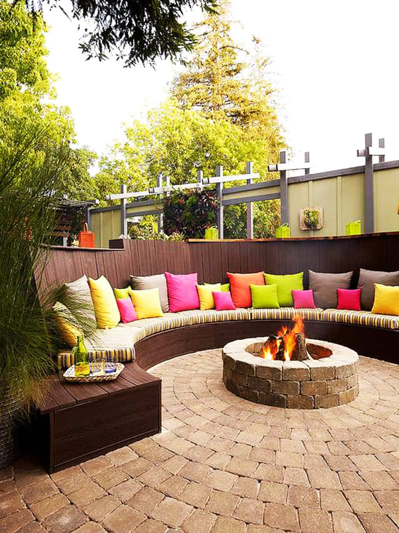 Stunning  fire pit patio Design Ideas