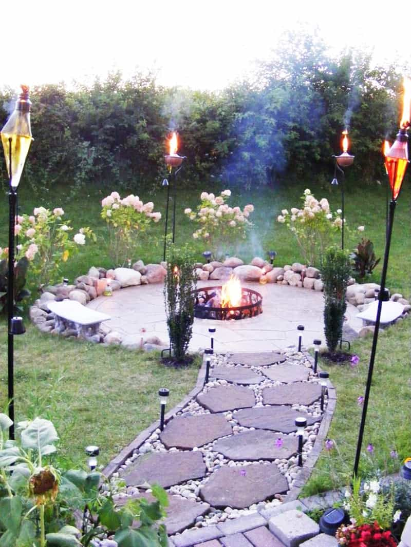 fire pit patio Design Ideas (4)