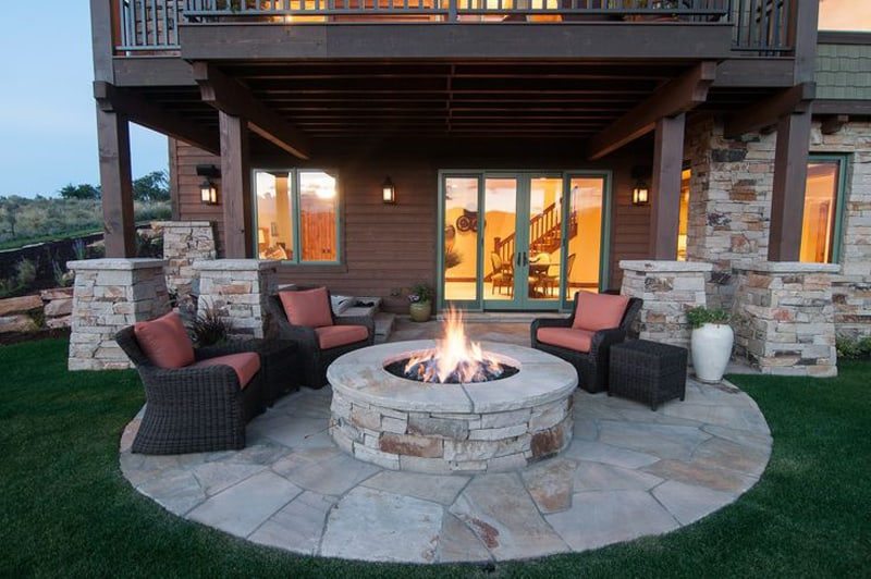 Fresh  fire pit patio Design Ideas