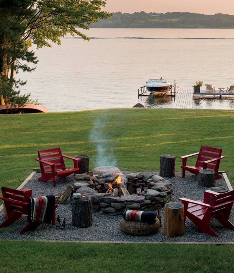 Popular  fire pit patio Design Ideas