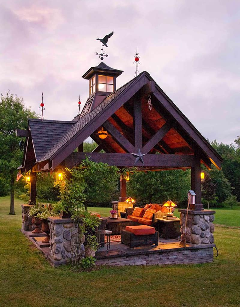 Best outdoor fire pit ideas to have the ultimate backyard Define contemporary country