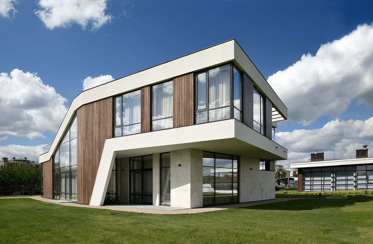 Great residential house python house by moscow for Residential house design plans